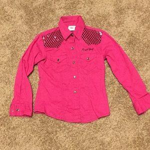 Cruel Girl Size XS pink shirt